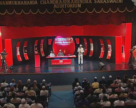 The stage was set for Dr. Zakir Naik to present his much needed views on this important topic.
